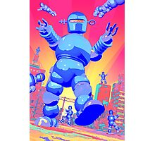 INVASION OF THE GIANT ROBOTS! Photographic Print