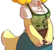 Animal Crossing New Leaf: Isabelle by PhantomNight