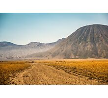 Mt. Bromo Walk Photographic Print