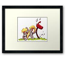 My Little Pony, Friendship is Magic: Derpy Hooves Framed Print