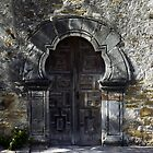 Door at Mission Espada by Dave Martin