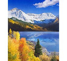 trout lake near telluride colorado Photographic Print