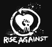 Rise Against-White by cheezrulz84