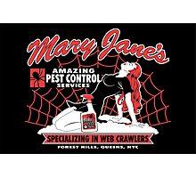 Mary Jane's Pest Control Photographic Print