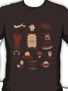 Doctor Who | Aliens & Villains T-Shirt