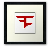 FaZe T-Shirt Framed Print
