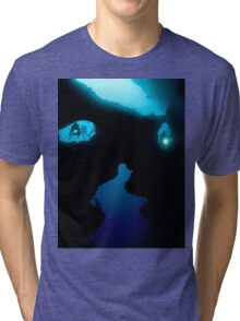 Cathedral at Pescador Island Tri-blend T-Shirt