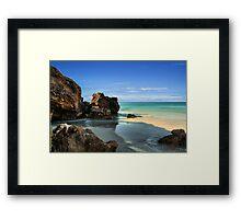 Shell Beach, South Australia Framed Print