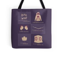 Doctor Who | Story Arcs Tote Bag