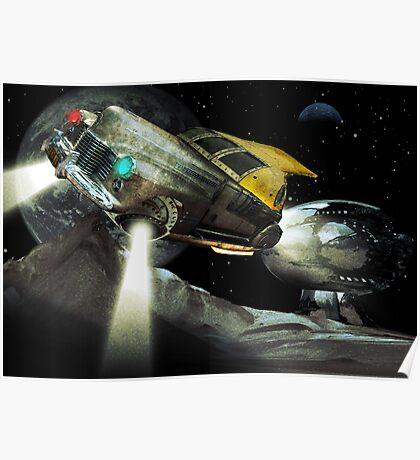 Lunar drive Poster