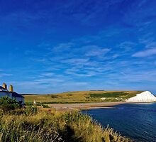 Coastguard cottages at Seven Sisters, England by atomov