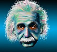 Colorful Einstein by Kristin Frenzel