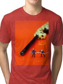 Fire Fighters And Fire Gun Tri-blend T-Shirt