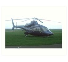 £5 million pounds worth of helicopter Art Print
