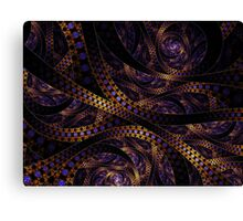 Crazy About Ribbons Canvas Print