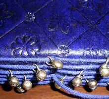 notebook with bells by Amanda le Bas de Plumetot