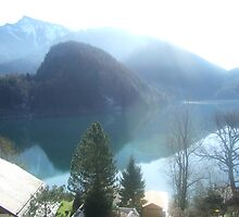 View of Lake Wofgangsee - St Gilgen Austria by ceroc99