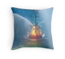 Make your own rainbow Throw Pillow