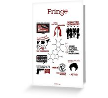 Fringe Quotes Greeting Card