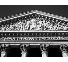 l'église Sainte-Marie-Madeleine Photographic Print