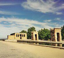 Gates to Temple of Debod by jadekrapsen