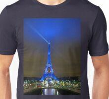 La Tour Eiffel En Bleu Unisex T-Shirt