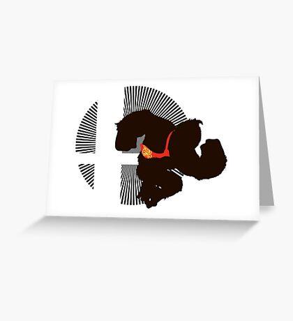 Donkey Kong - Sunset Shores Greeting Card