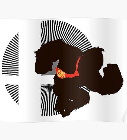 Donkey Kong - Sunset Shores Poster