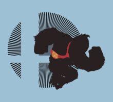 Donkey Kong - Sunset Shores Kids Tee