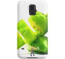Chopping Green Peppers Samsung Galaxy Case/Skin