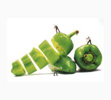 Chopping Green Peppers T-Shirt