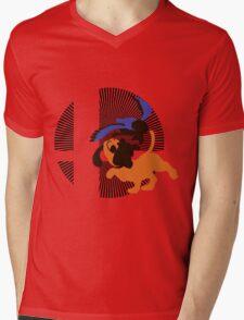 Duck Hunt - Sunset Shores Mens V-Neck T-Shirt