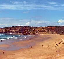 Jan Juc beach. Great Ocean Road, Australia by Andy Berry