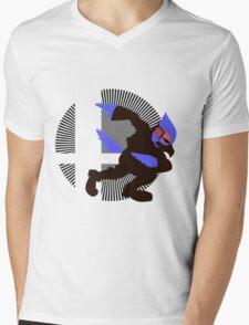 Falco - Sunset Shores Mens V-Neck T-Shirt