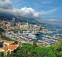 View of Monaco Bay by atomov