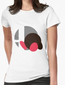 Kirby - Sunset Shores Womens Fitted T-Shirt