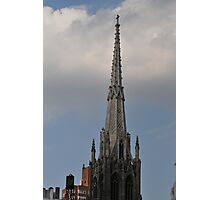 Top off the church and touch the heavens Photographic Print