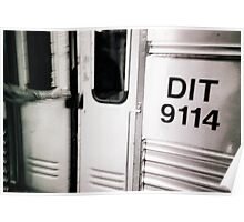 DIT 9114 (detainee intertransport train) dock #9114 Poster