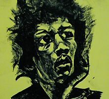 Psychedelic  voodoo  child by Dale Tolley