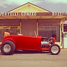 Red 32 Ford Hot Rod by John Jovic