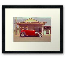 Red 32 Ford Hot Rod Framed Print