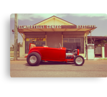 Red 32 Ford Hot Rod Canvas Print