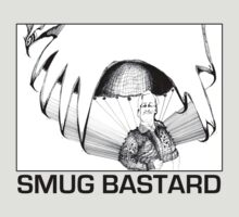 Smug Bastard (in Black) by KellasRuth