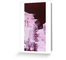 Red Winter Greeting Card