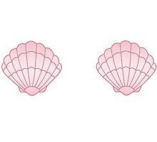 Pink Seashells by MadeCompany