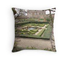 Royal garden Throw Pillow