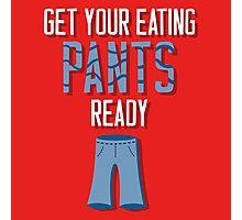 Eating Pants Photographic Print