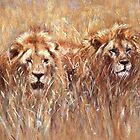 Serengeti Companions by Angela Drysdale