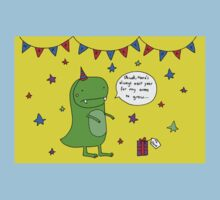Dinosaur Dave's Birthday Kids Clothes