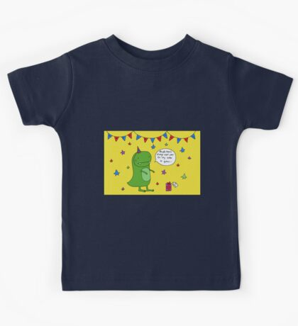 Dinosaur Dave's Birthday Kids Tee